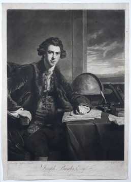 young Joseph Banks portrait