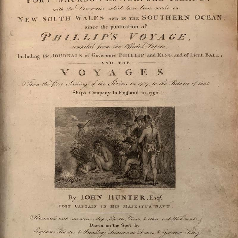 book by Captain John Hunter