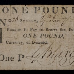 one pound promissory note