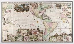 Carte très Curieuse de la Mer du Sud