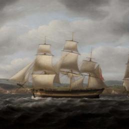 Portrait of the ship CATO