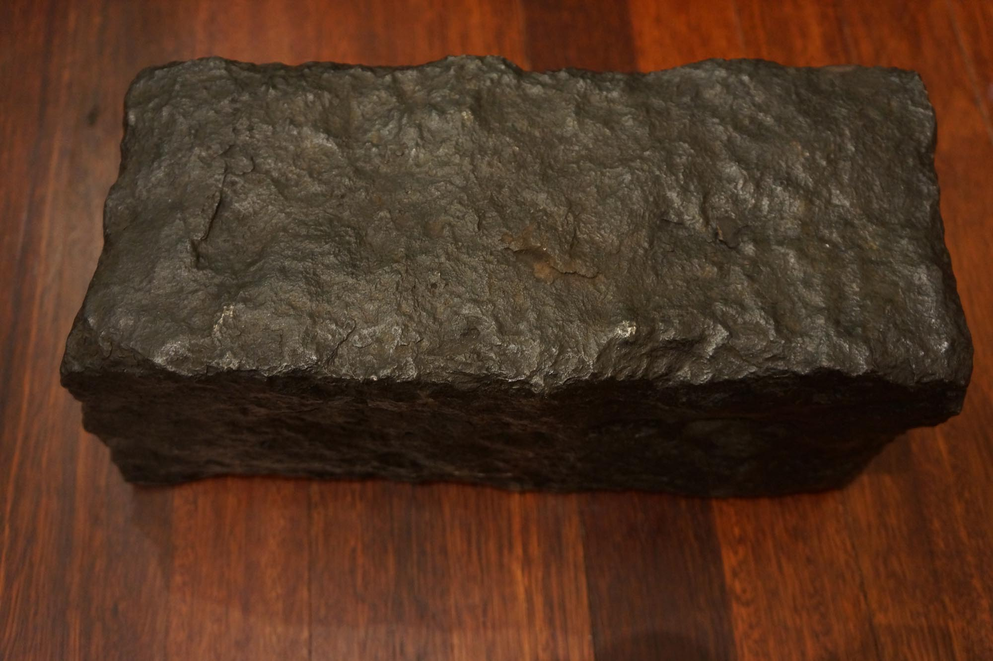 A piece of the Endeavour ballast in the Silentworld Foundation Collection. Image credit: Silentworld Foundation, 2021.
