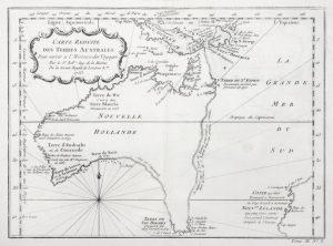 Carte Réduite des Terres Australes, SF000815