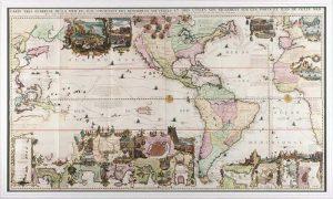 Carte Très Curieuse de la Mer du Sud, SF001038