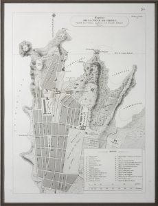 Esquisse de la Ville de Sydney, Capitale des colonies anglaises, à la Nouvelle-Hollande, SF000055
