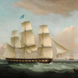 The merchantman MEDINA OF LONDON
